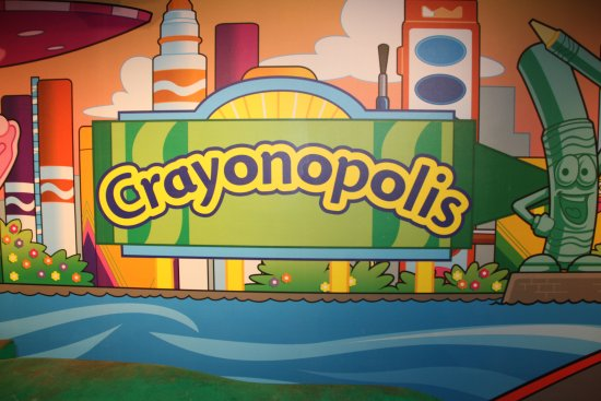 Crayola Experience: Crayonopolis - but skip the boats