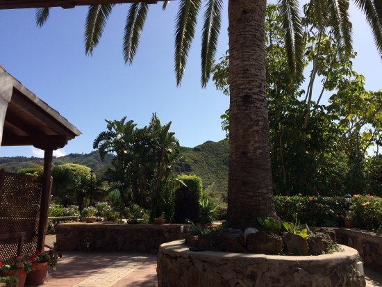 Beautiful grounds of the Finca El Picacho
