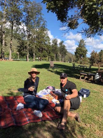 Canungra, Австралия: My wife and i sitting back relaxing