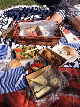 Canungra, Австралия: the picnic pack which for $70 was good value