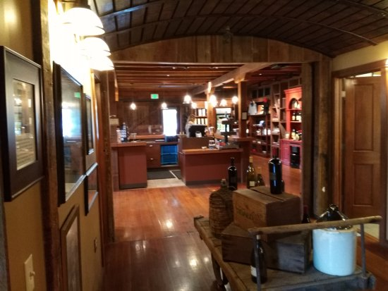 Healdsburg, CA: The gift shop