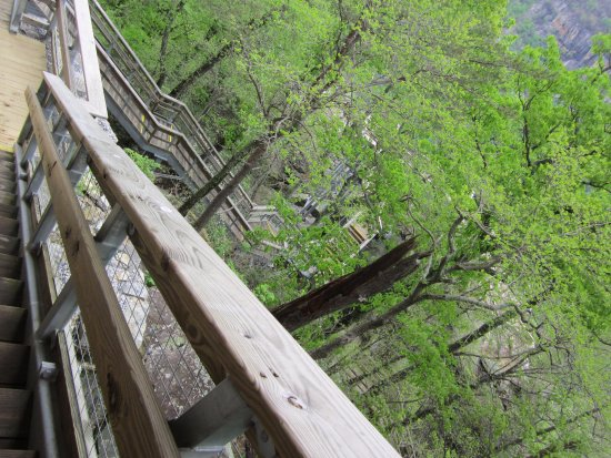 Chimney Rock, Caroline du Nord : more stairs