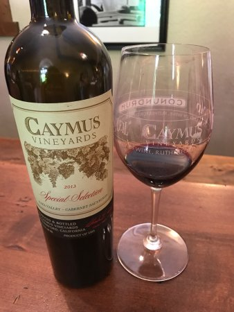 Rutherford, CA: Caymus Vineyards