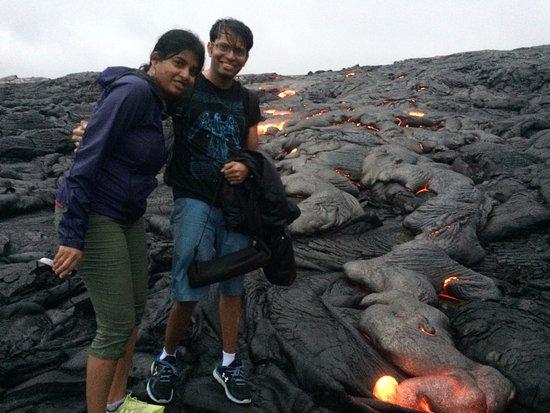 Keaau, Hawái: Drenched!