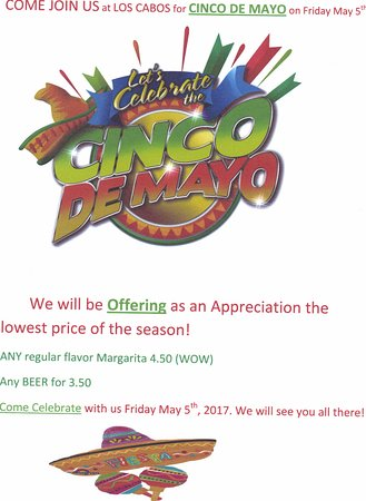 ‪‪Cle Elum‬, واشنطن: Come visit us for the Cinco De Mayo. We have exciting specials for Margaritas and Beers‬