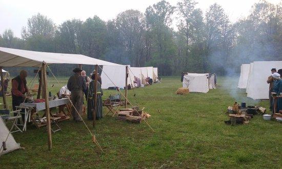 Confederate Campsite Picture Of Neshaminy State Park Bensalem Tripadvisor