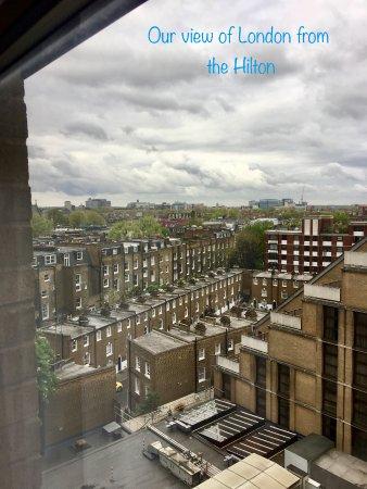 Hilton London Kensington: room view