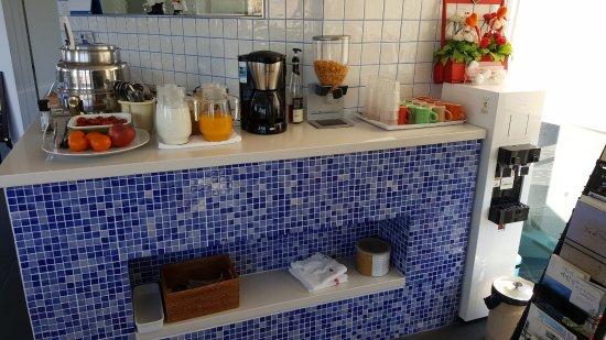 Tacet Pension: simple breakfast