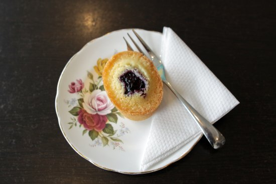 Tawa, New Zealand: Our gluten free Boysenberry Friand