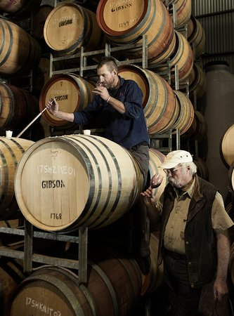 Barossa Valley, Australia: Vintage 2017 in barrel