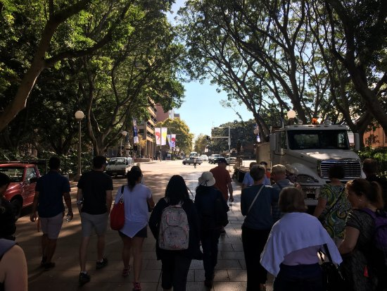 Free Sydney Walking Tour Review