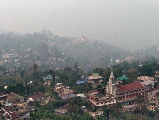 Haflong, India: general view