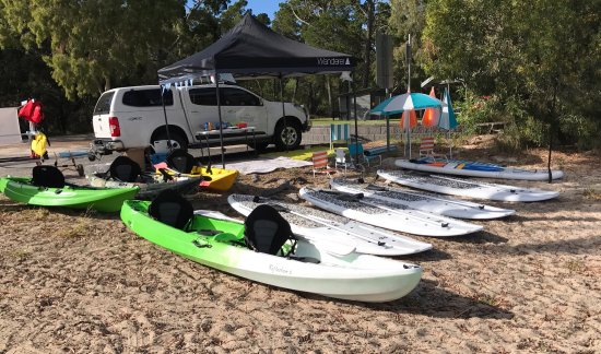 Woodgate Beach Kayak & Paddle board hire