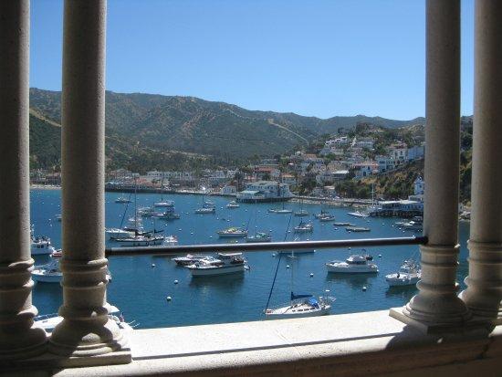 Catalina Island Casino: The Casino Catalina- view from the dance floor porch