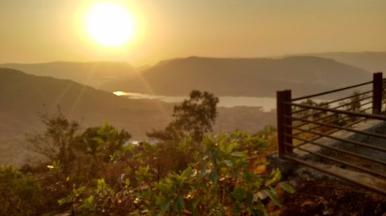 Panchgani, India: Sydney Point Sunset