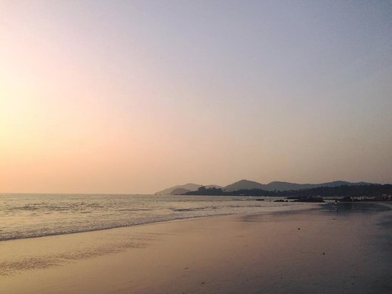 Patnem Beach to the left