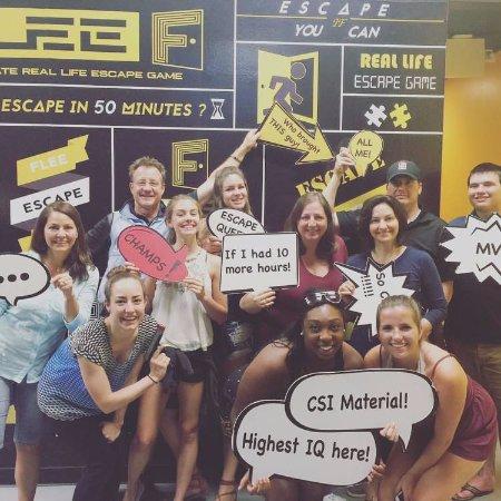 Redmond, WA: FLEE Escape Games Team event
