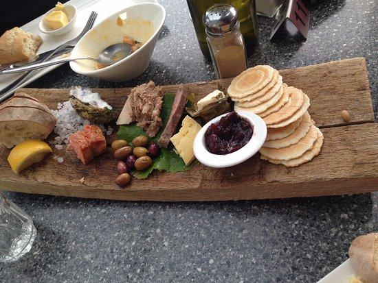 Lunawanna, Australia: Tasting Platter for 1