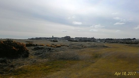 New Course at St. Andrews Links: Another View on the course