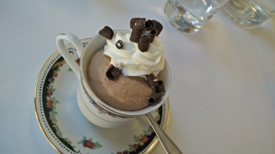 Hoejby, Dinamarca: Chocolate mousse
