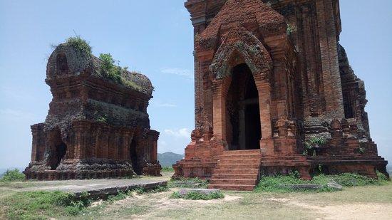 Binh Dinh Province, Vietnam : main temple