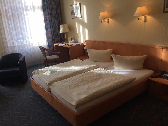 Hotel Carmer 16: bed