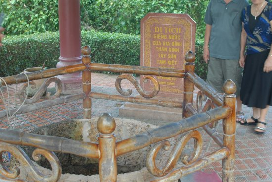 Tay Son, Vietnam: the ancient well