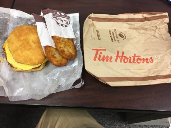 how to make tim hortons breakfast sandwiches