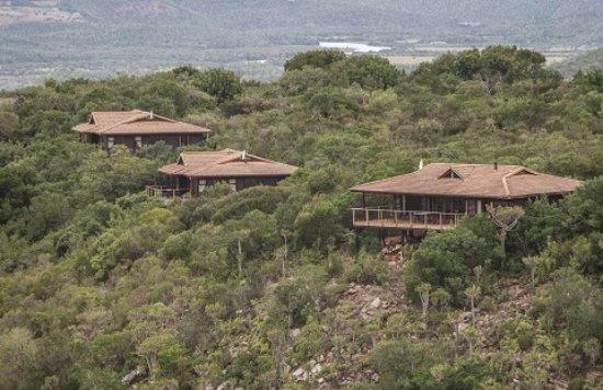 Kenton-on-Sea, Sør-Afrika: Kariega Main Lodge chalets
