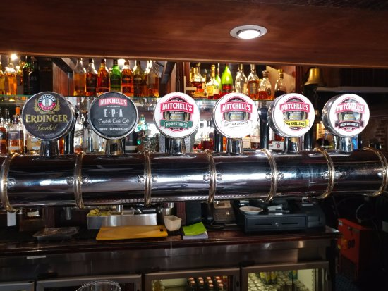 Mitchell's Scottish Ale House : Different in-house craft beers on tap