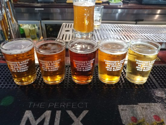 Mitchell's Scottish Ale House : Beer-tasting :)