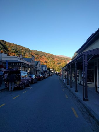 Arrowtown, Yeni Zelanda: The main street