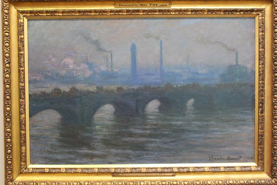 Dublin City Gallery The Hugh Lane: Monet: Waterloo Bridge [one of 41 paintings with this theme]
