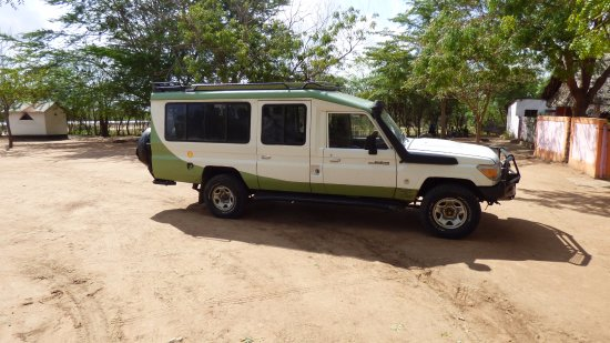 F. King Tours and Safaris - Day Tours: The Land Cruiser I was in for 3 days