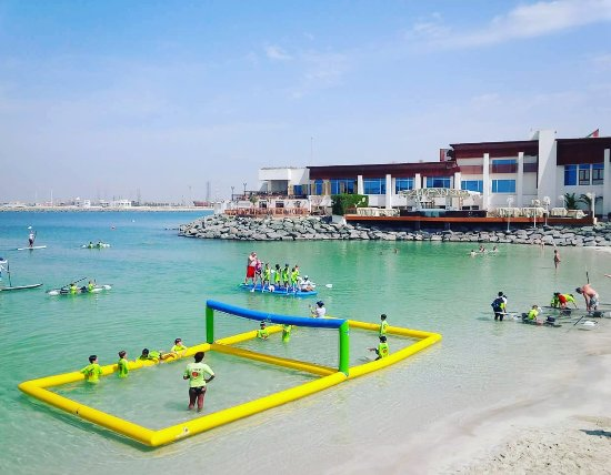 Dubai Marine Beach Resort And Spa Fahrenheit Beachsports