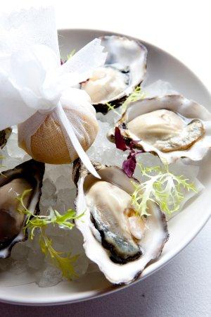 Amstel Brasserie: Menu item - Oysters