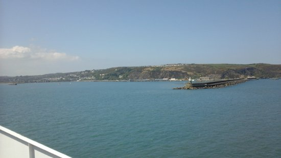 Stena Line Limited - Day Trips: Approaching Fishguard