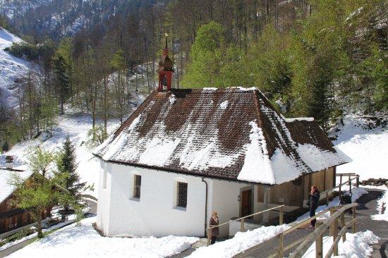 Sachseln, Switzerland: L'eremo di San Nicola della Flüe e la gola del Ranft