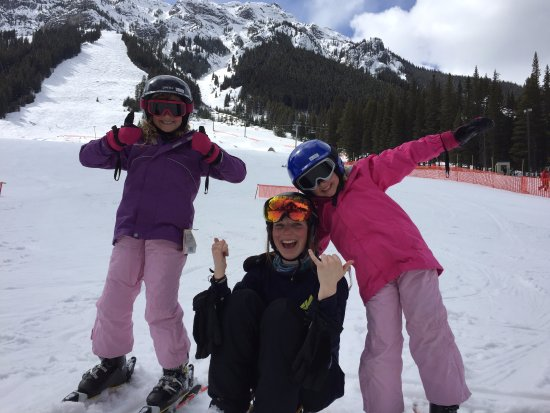 Mt. Norquay : Jemma was awesome with the kids