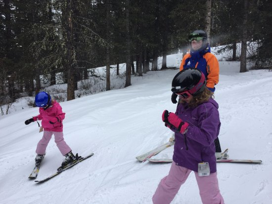 Mt. Norquay : Up the mountain by end of 1st lesson
