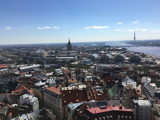 View of Riga from St Peter's Church Tower : photo0.jpg