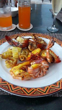 Dar es Salaam Serena Hotel: Gezonde voeding