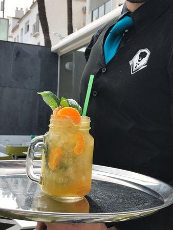 Don Leone: Cocktail de mandarina