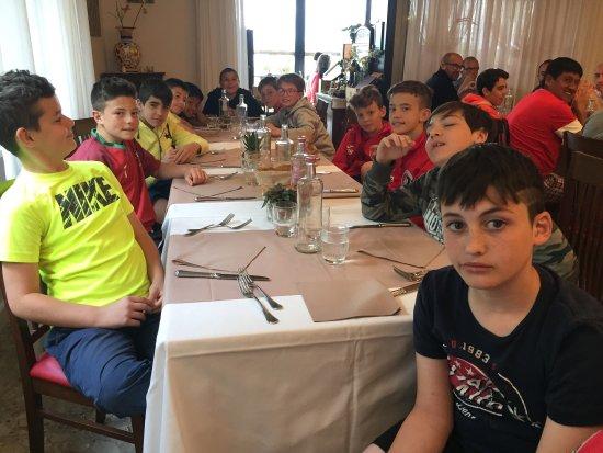 Osteria Dei Dolci: Partecipanti Al pranzo