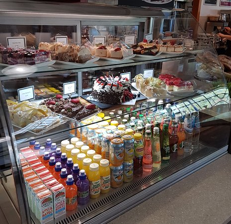 Standish, UK: A range of cakes & Scones available