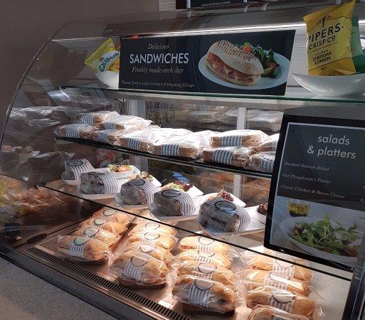 Standish, UK: Sandwiches
