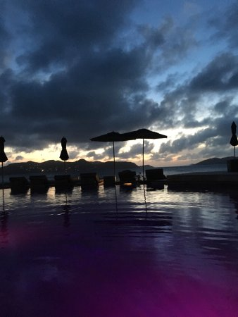Christopher St Barth: View from the pool😍