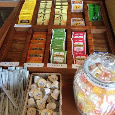 Coco Garden Resort Okinawa: 朝から夜10時まで無料の珈琲やお茶