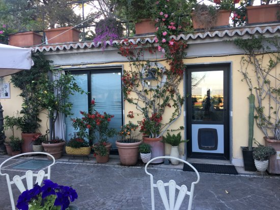 IL BOOM - il bed 'n breakfast: On the terrace