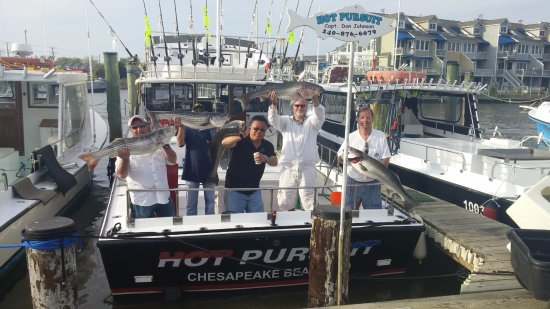 Hot Pursuit Charter Fishing LLC